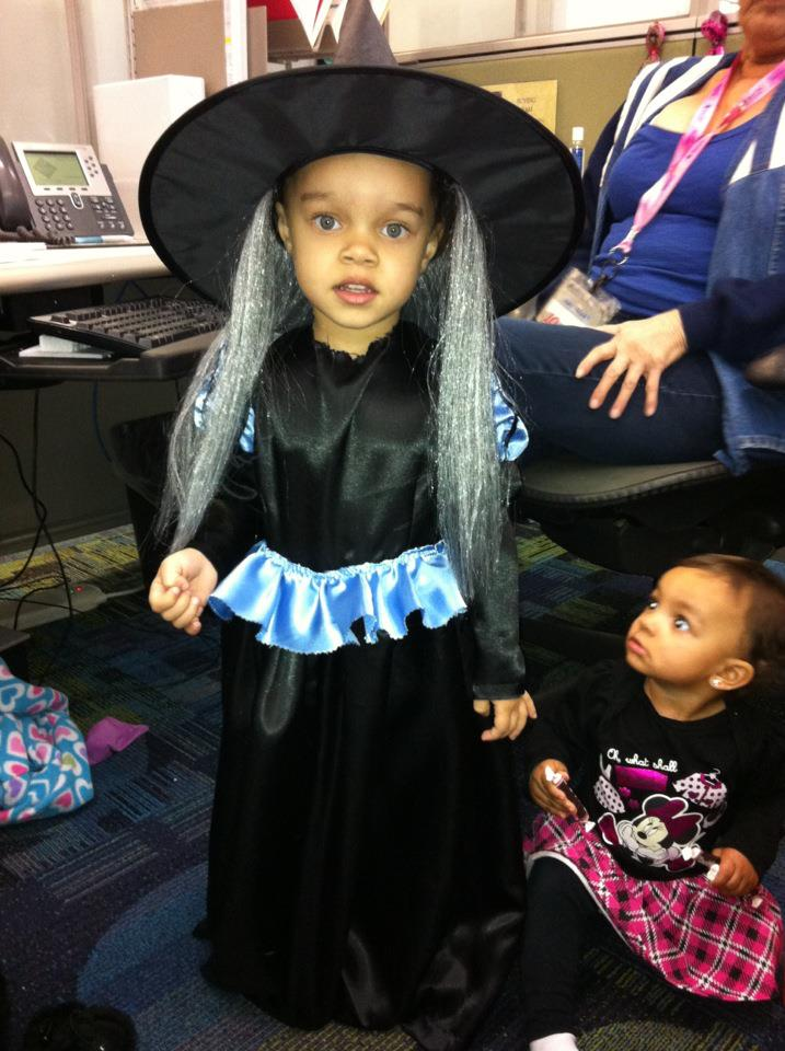 Scary Witch!