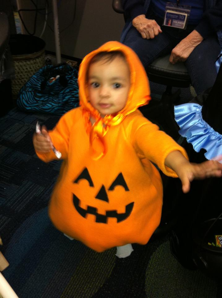 Cutest Pumpkin!