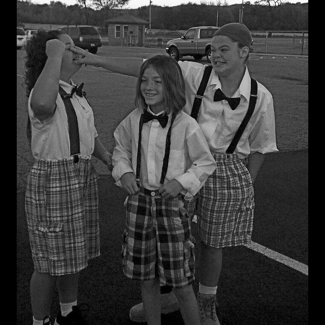 The Three Stooges Tori, Laynee & Mariah from Alma