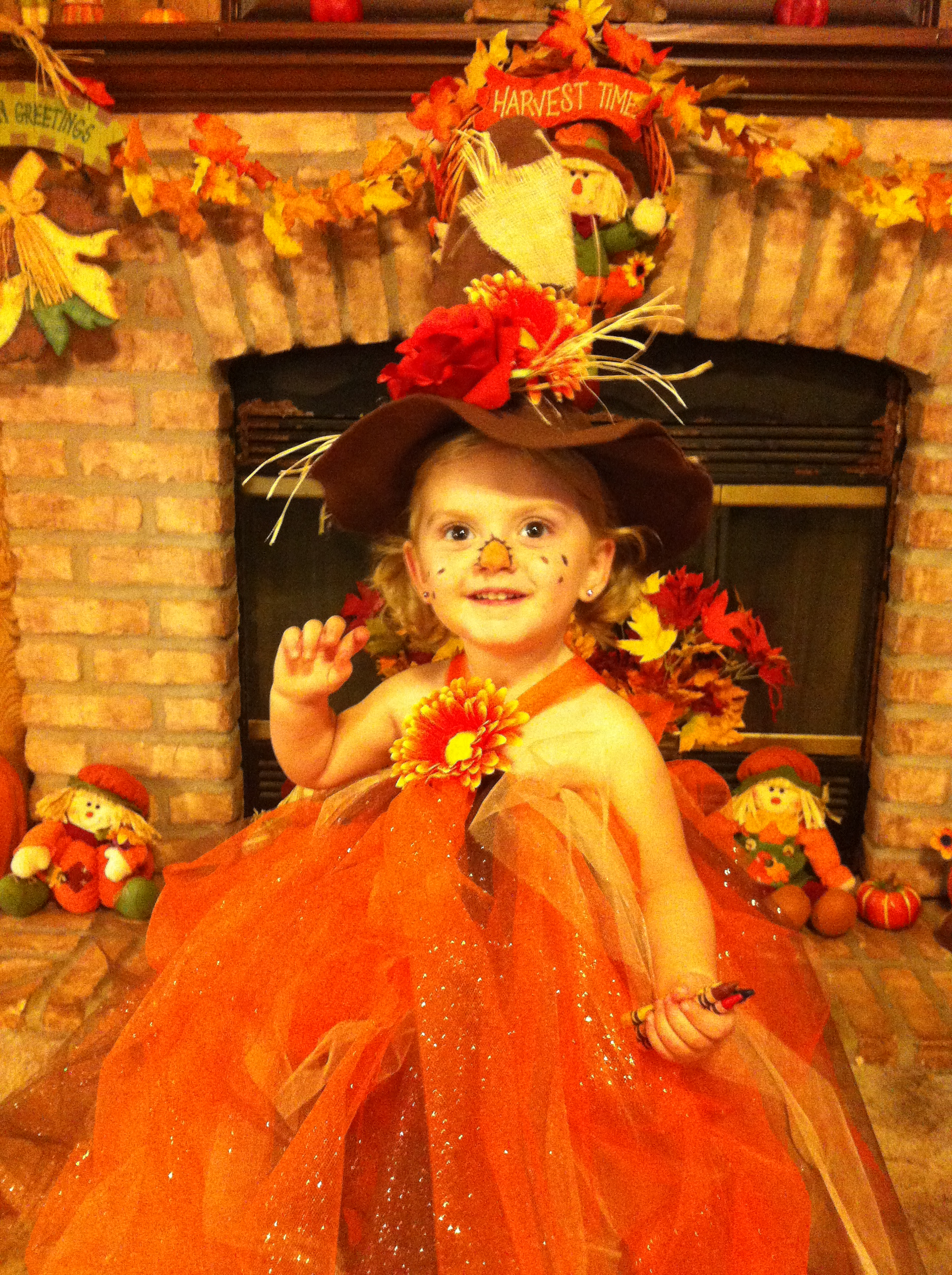 Savannah Isham from Waldron AR Scarecrow