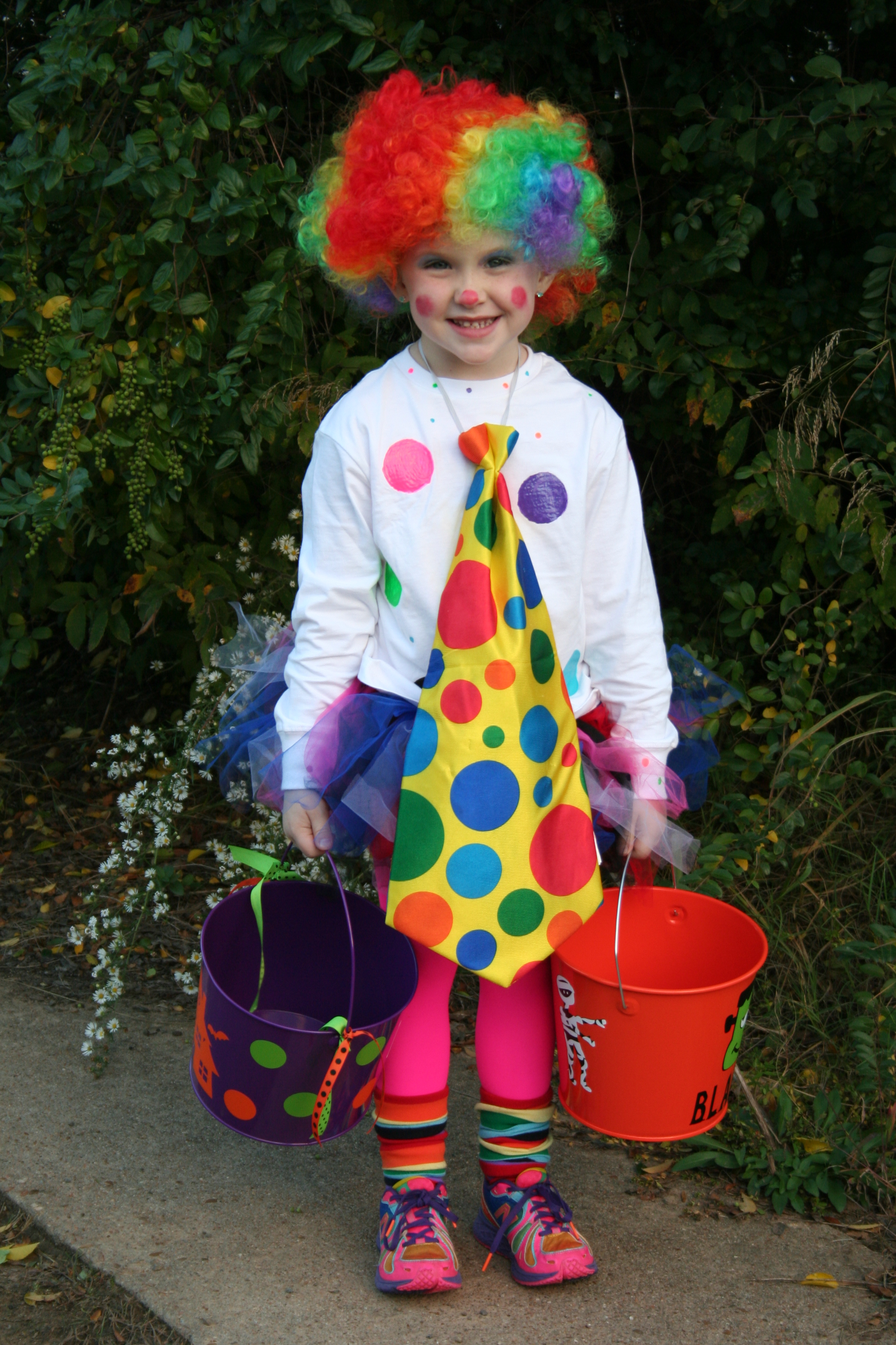 Mayci the Clown from Clarksville