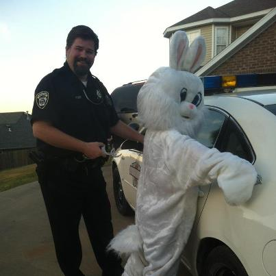 Easter Bunny Arrested for attempting to invade Halloween!