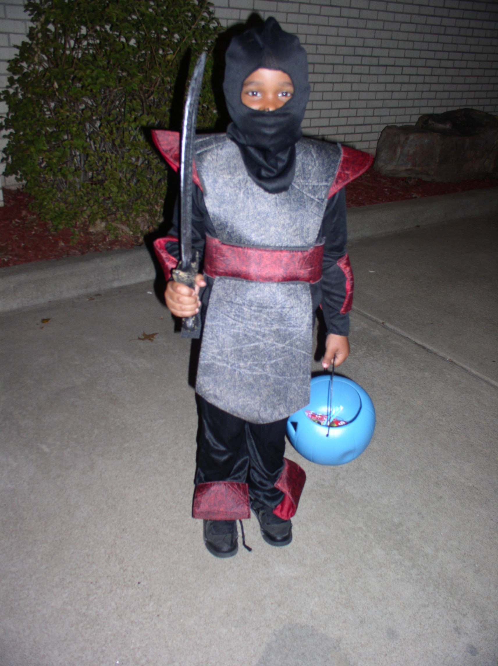 My grandson the Ninja