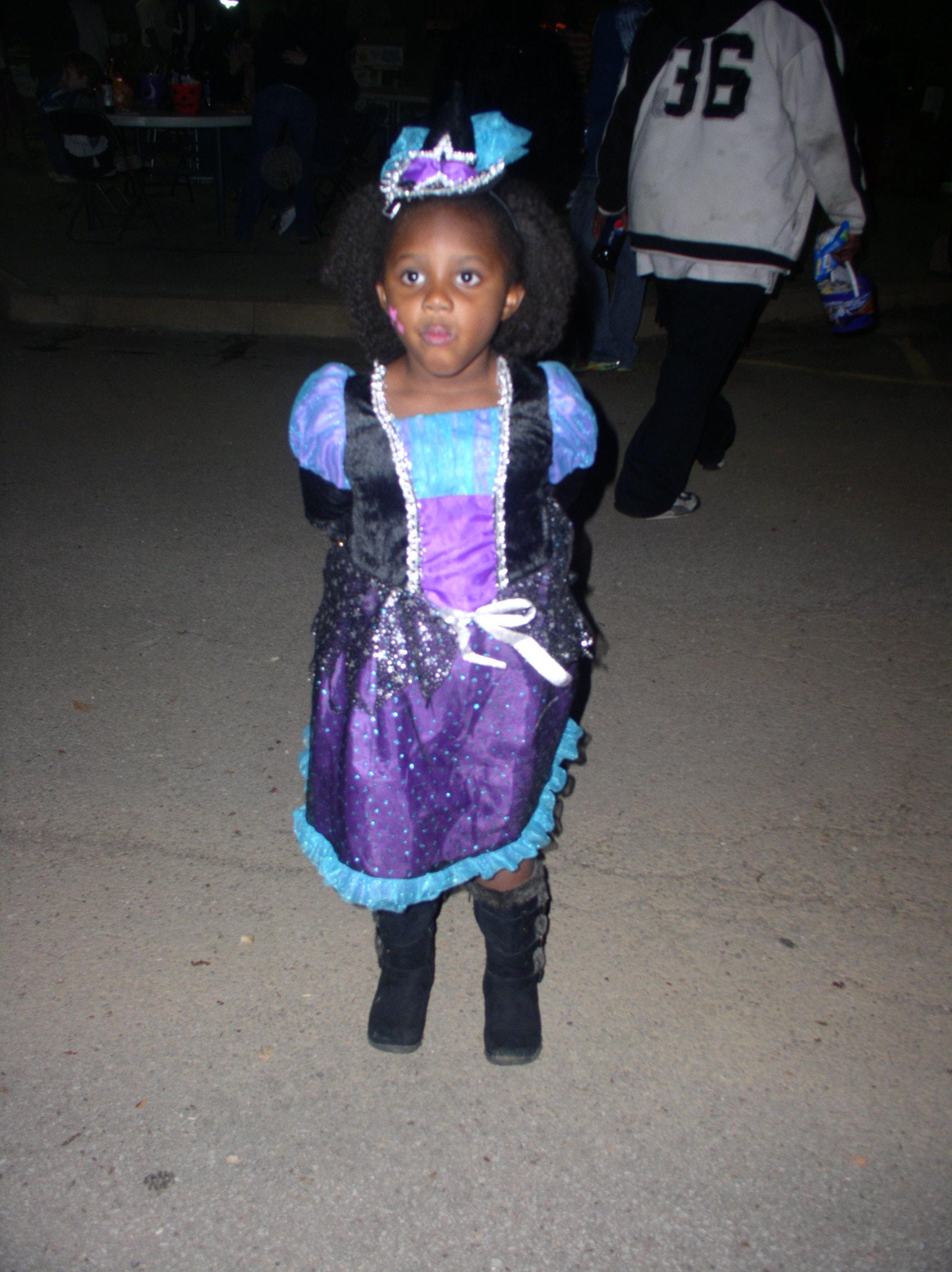 My princess granddaughter