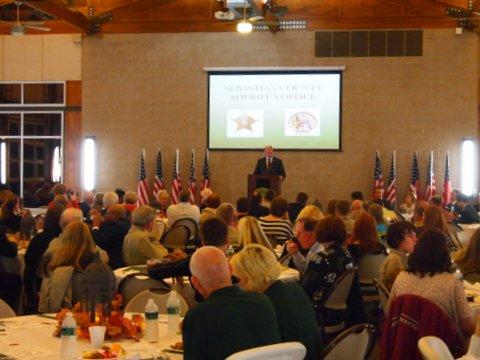 Sebastian County Sheriff's Office Awards Banquet