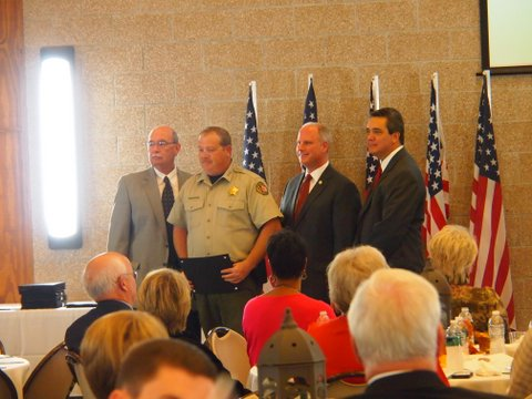 Sebastian County Sheriff's Office Awards Banquet