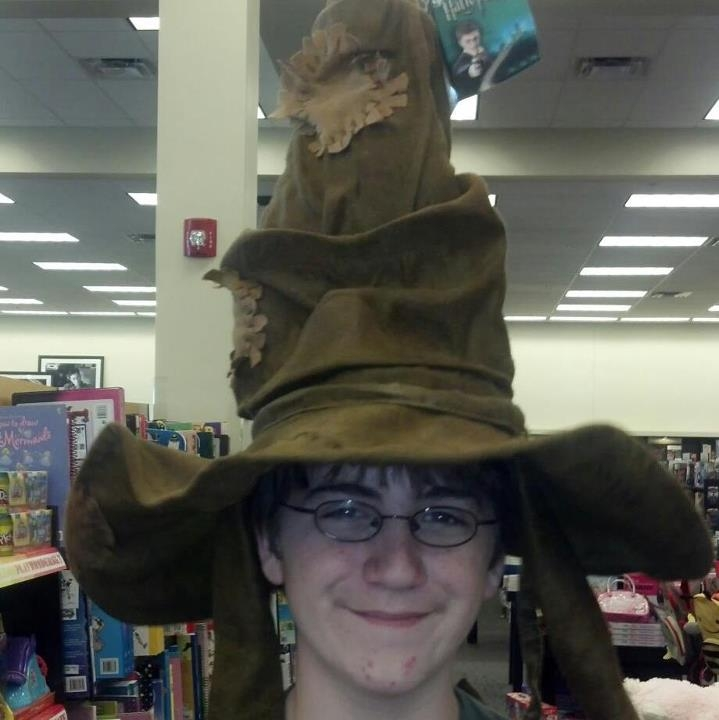 "My son \""Harry Potter\"""