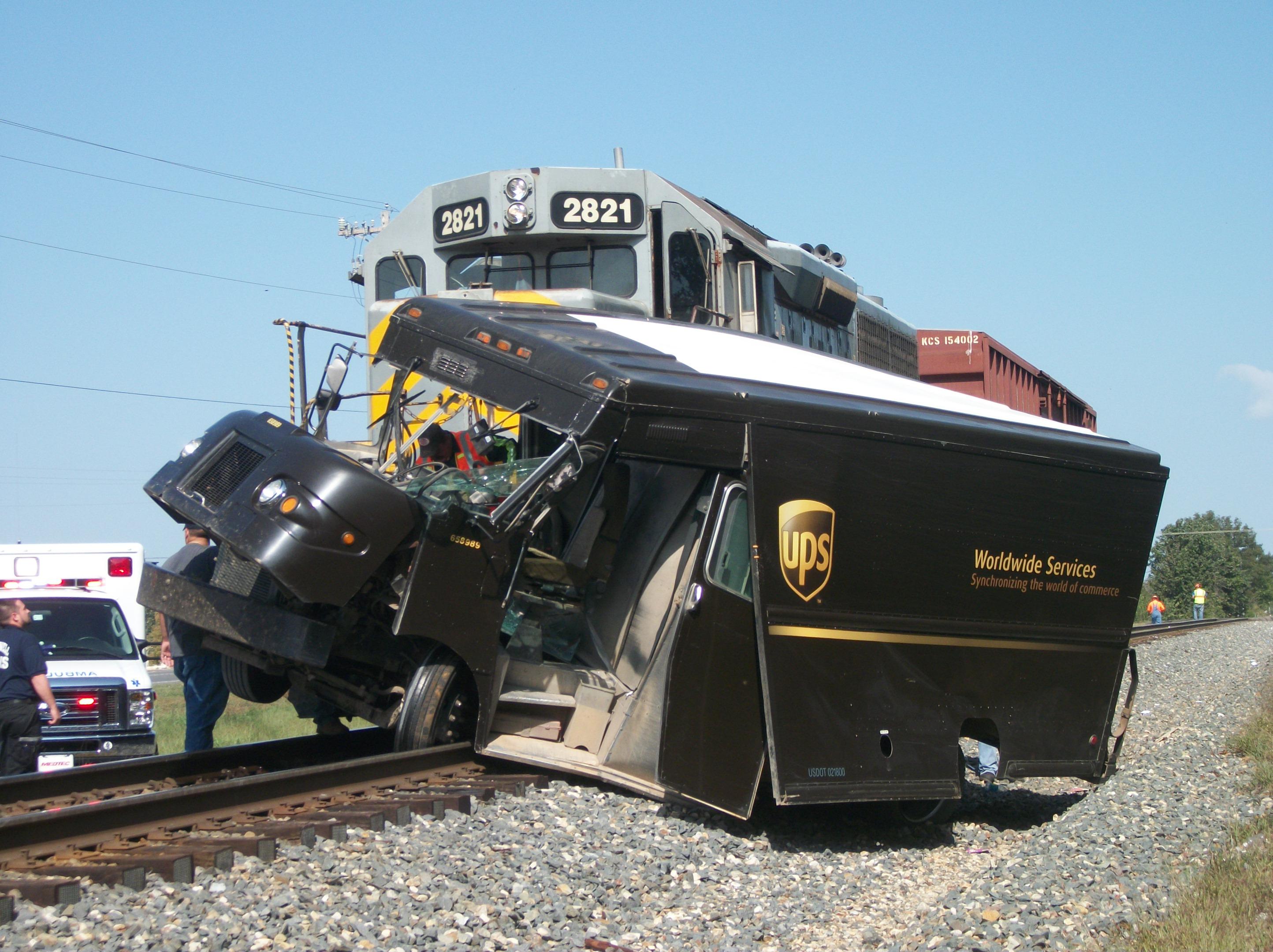 Stilwell train accident - Photos taken by Darrell Neale, Stilwell Democrat-Journal