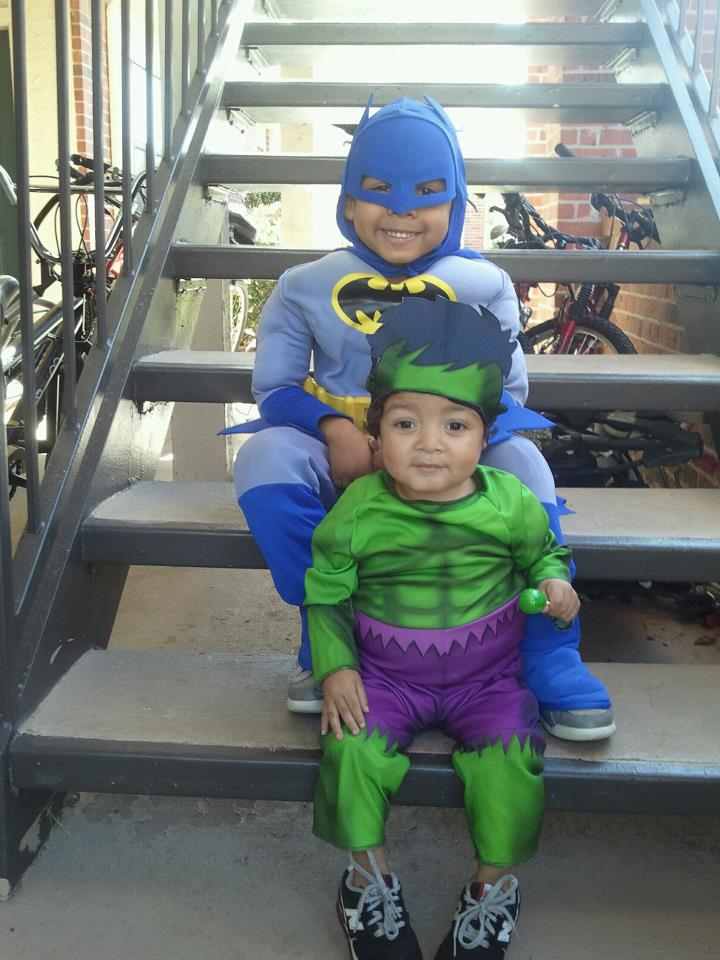 our little super heroes