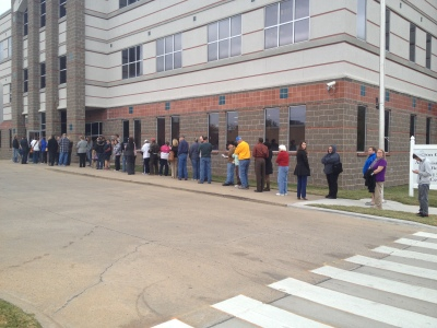 benton county voting lines