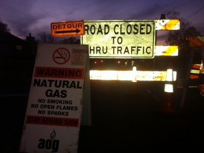 Rena Road Gas Leak