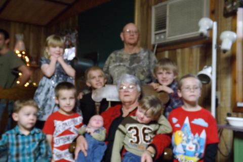 Grandma and the great Grandchildren
