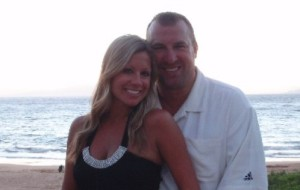 Jen and Bret Bielema (Twitter photo)