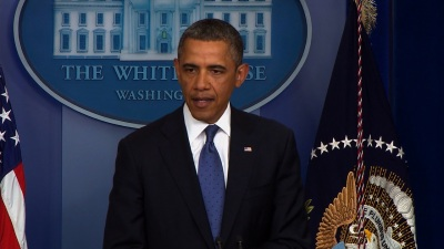 Pres. Obama Fiscal Cliff Presser