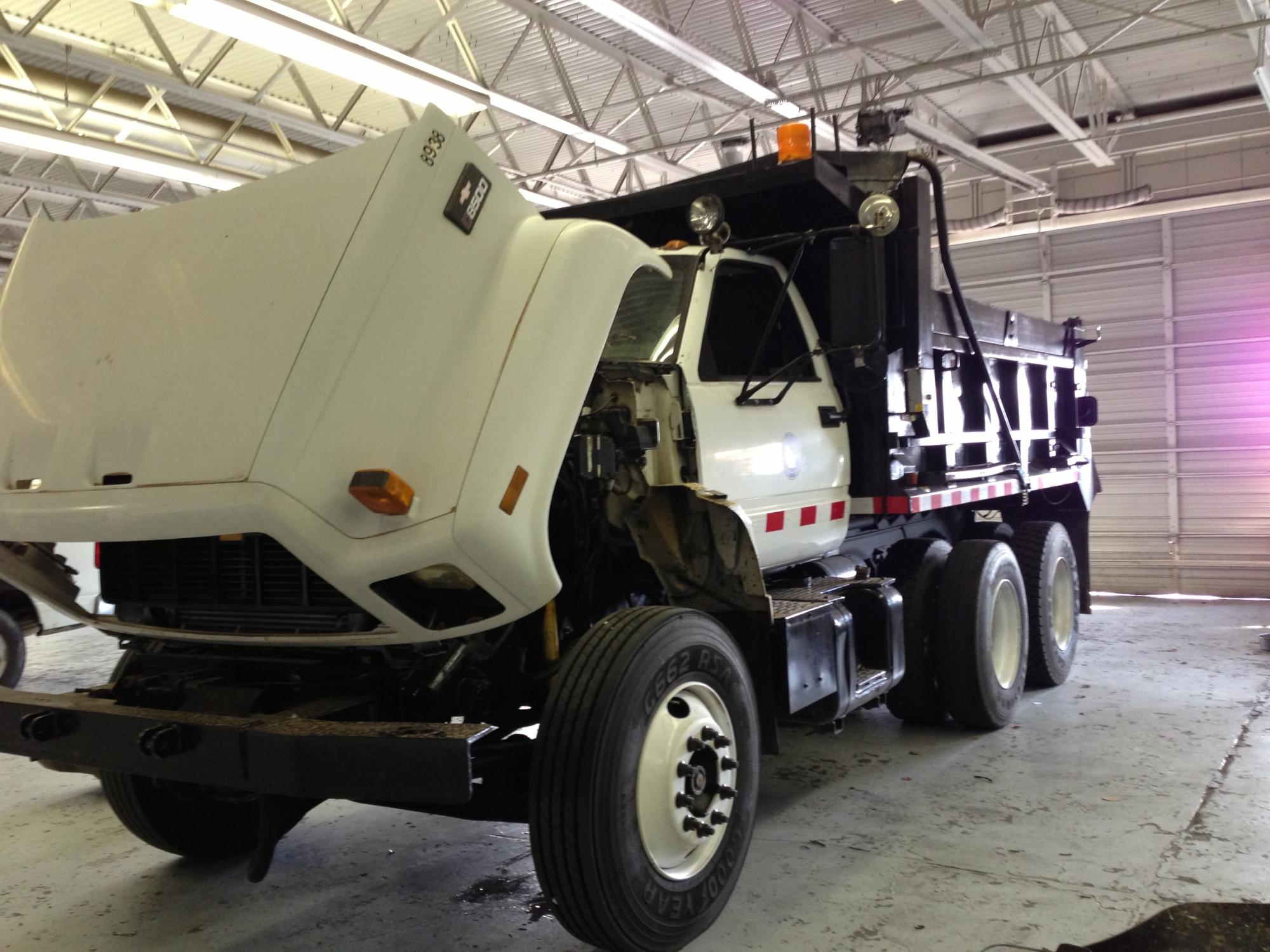 Salt trucks are ready to go