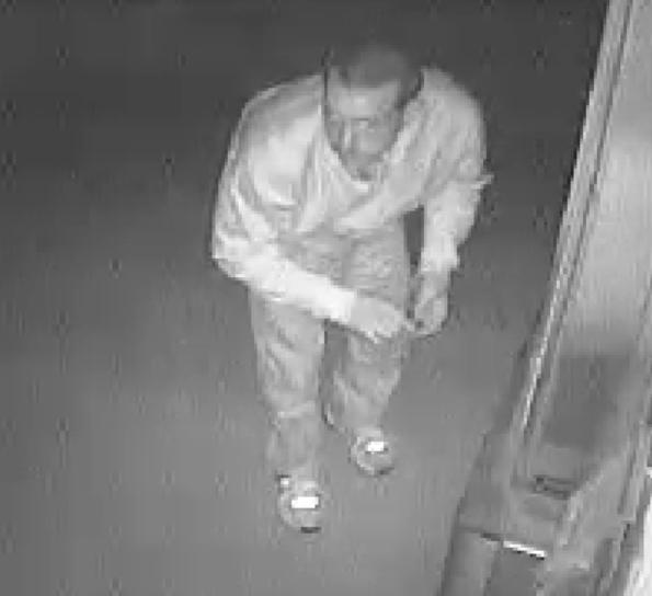 Coin Machine Theft Suspect