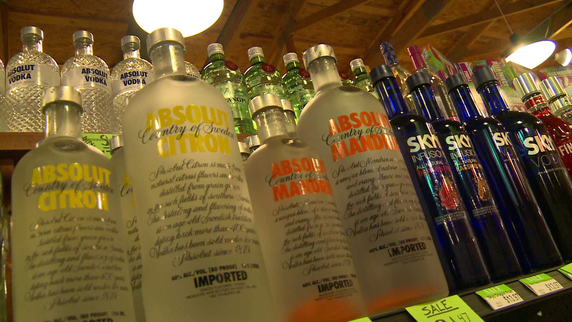 Alcohol Sales in Barling