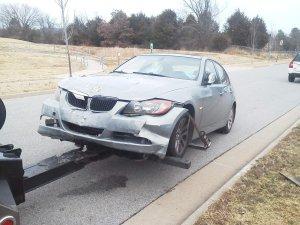 car crashes into house 2