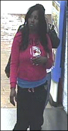 Person of interest in credit card theft