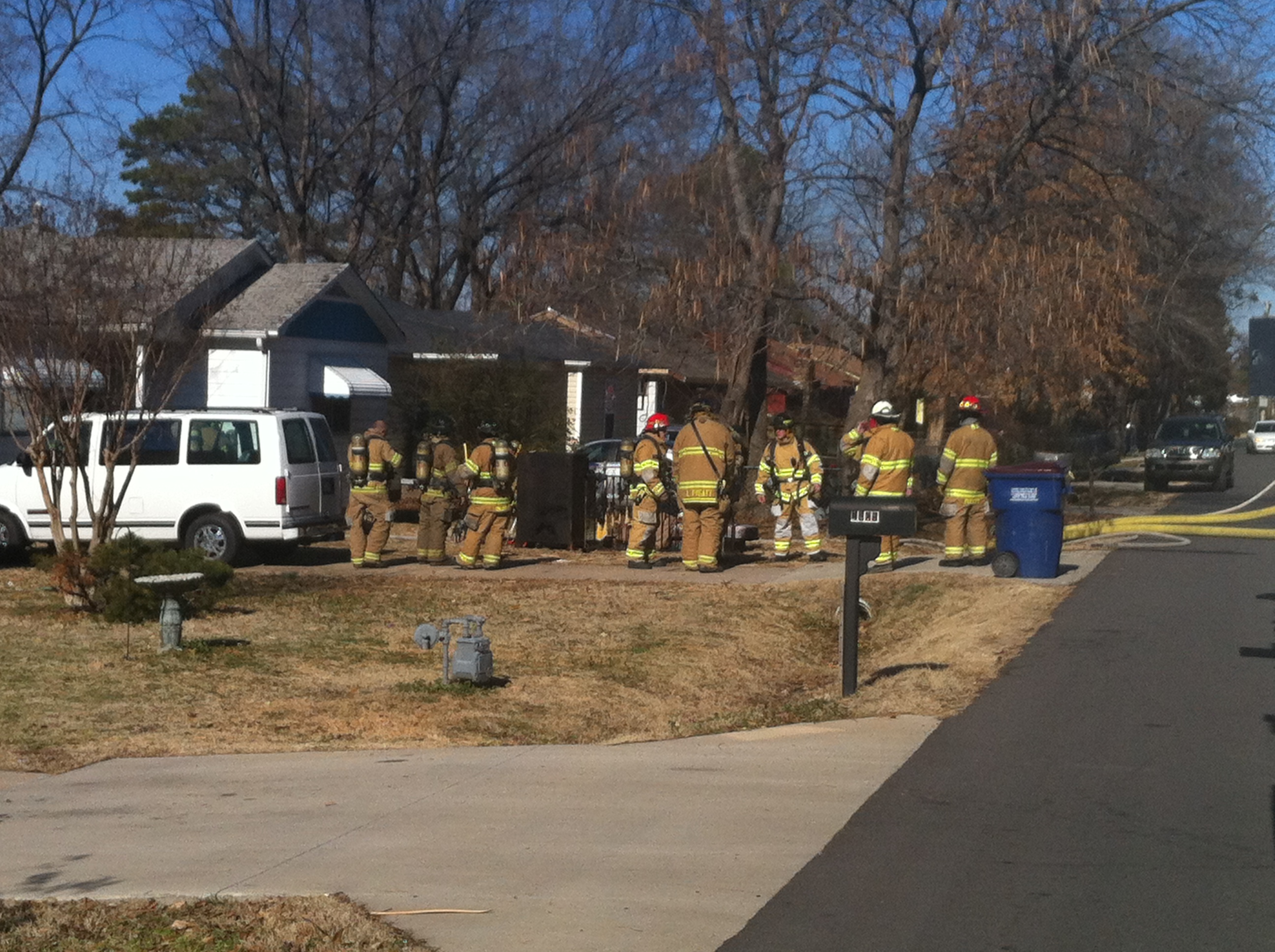 House fire on N. 44th