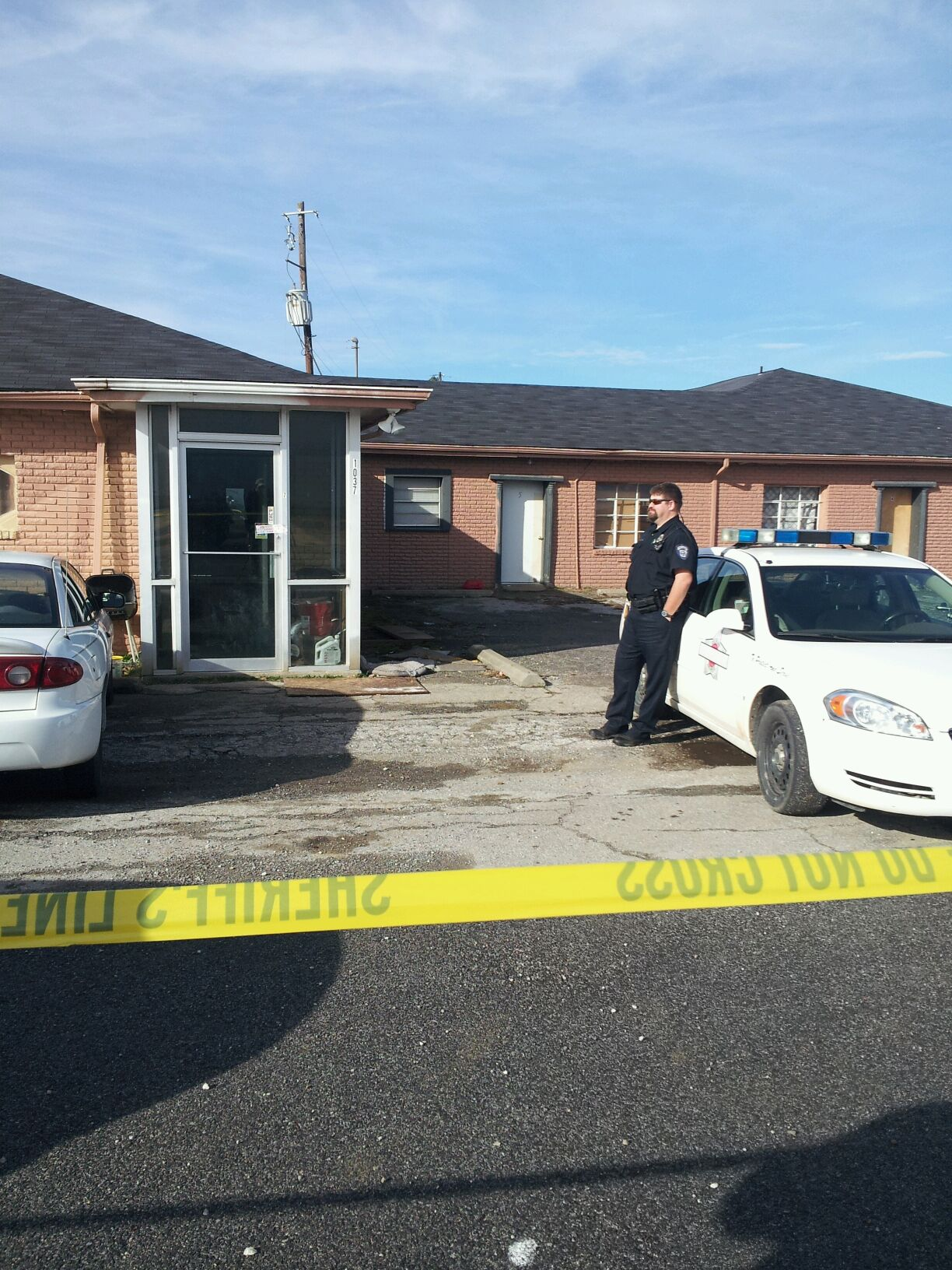 Shooting at Greenland apartment complex
