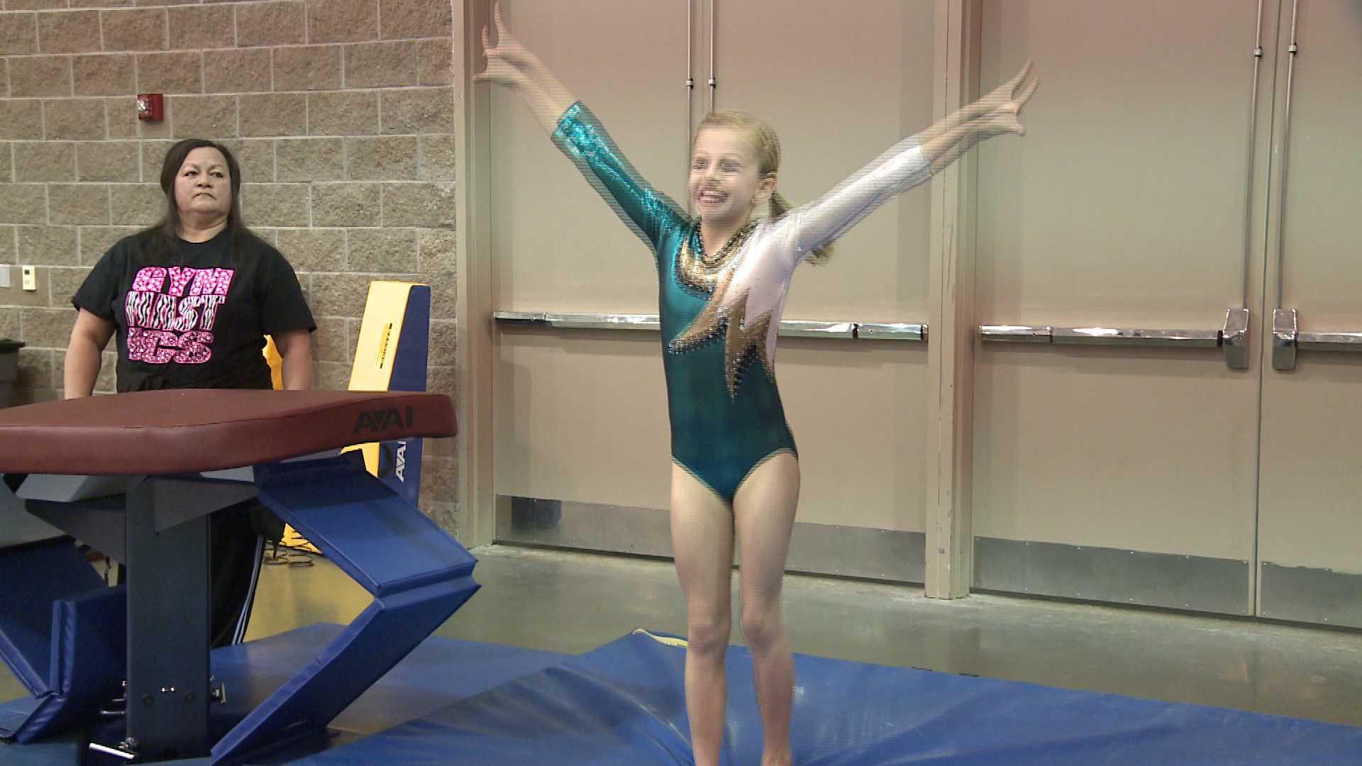 schaumburg convention center gymnastics meet tracker