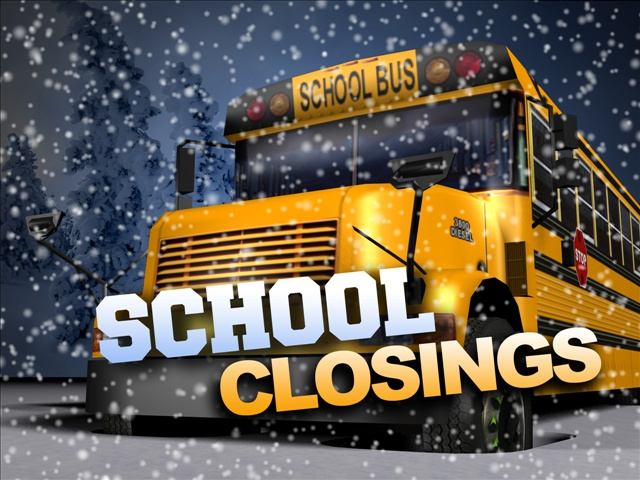 school closings gfx