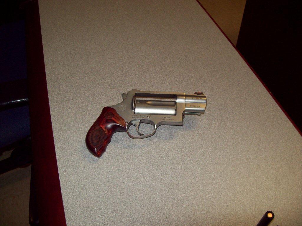 Gun at KUAF