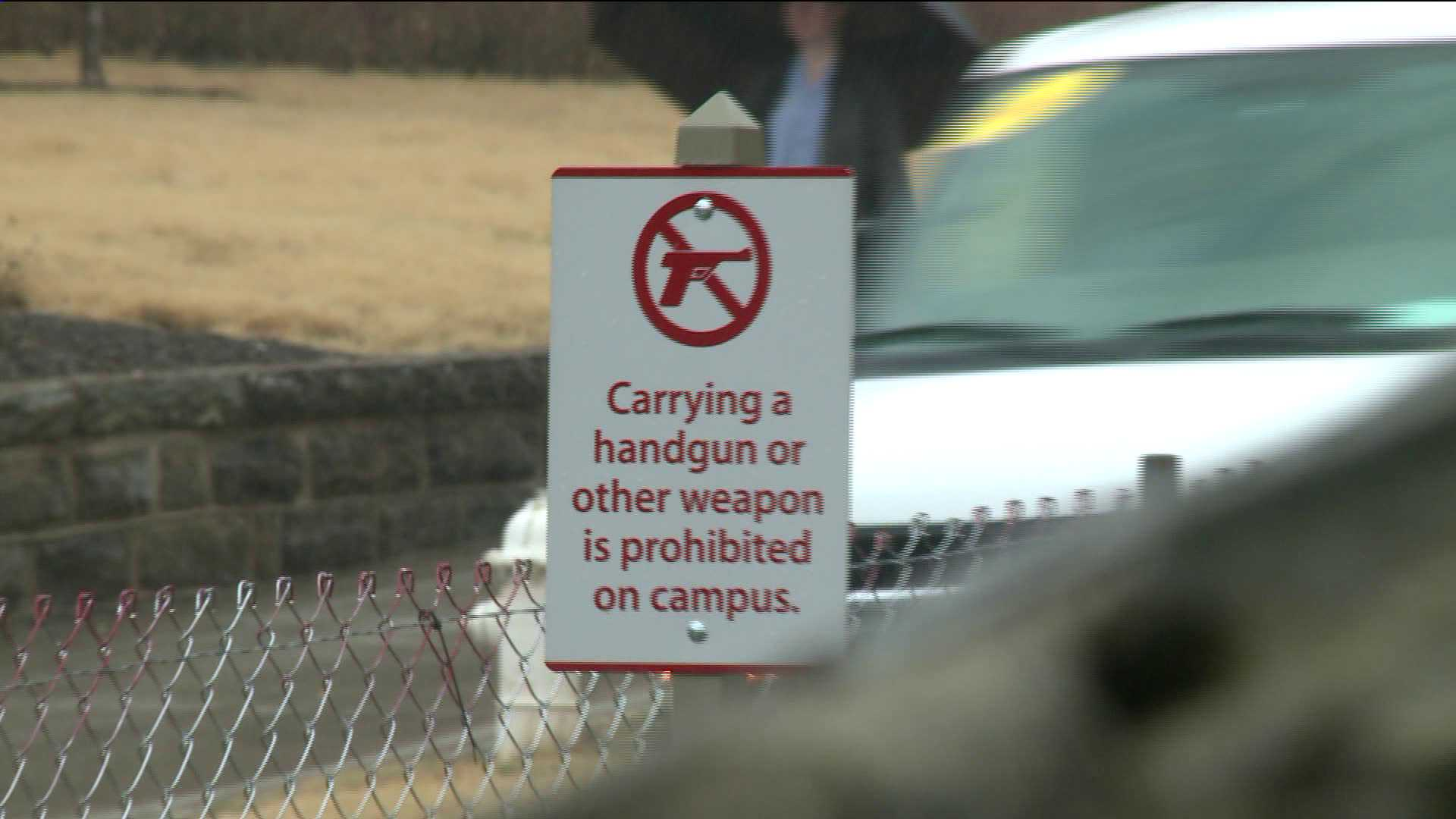 guns on campus