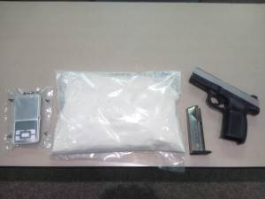 Items seized during bust