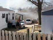 Rogers Mobile Home Fire