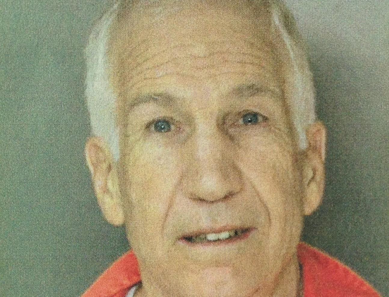 Jerry Sandusky State Prison Mug Shot