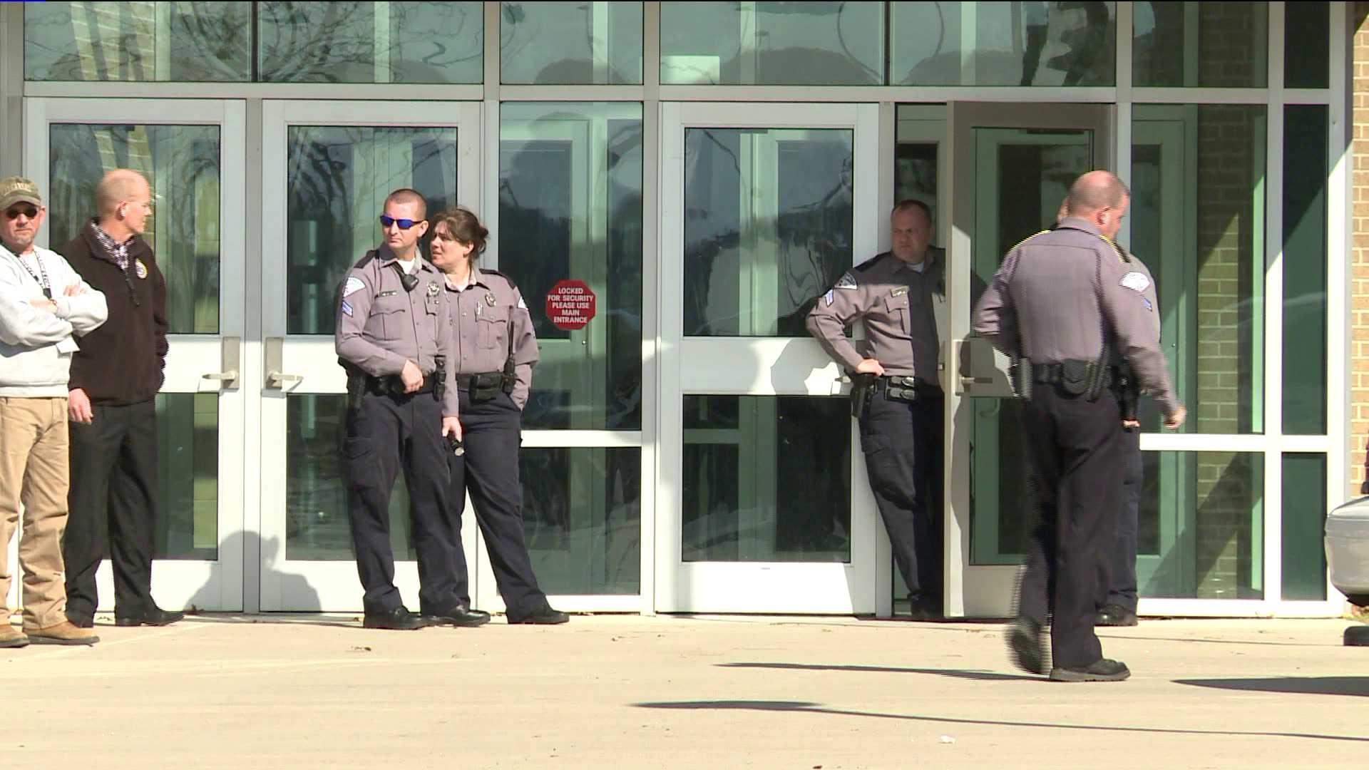 Van Buren High School Evacuated