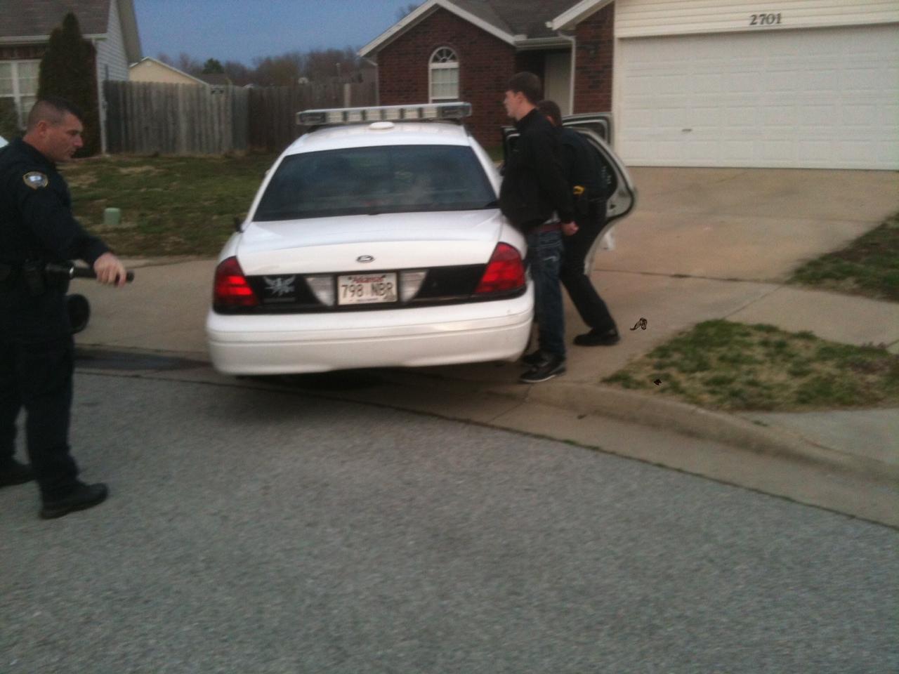 burglary suspect bentonville