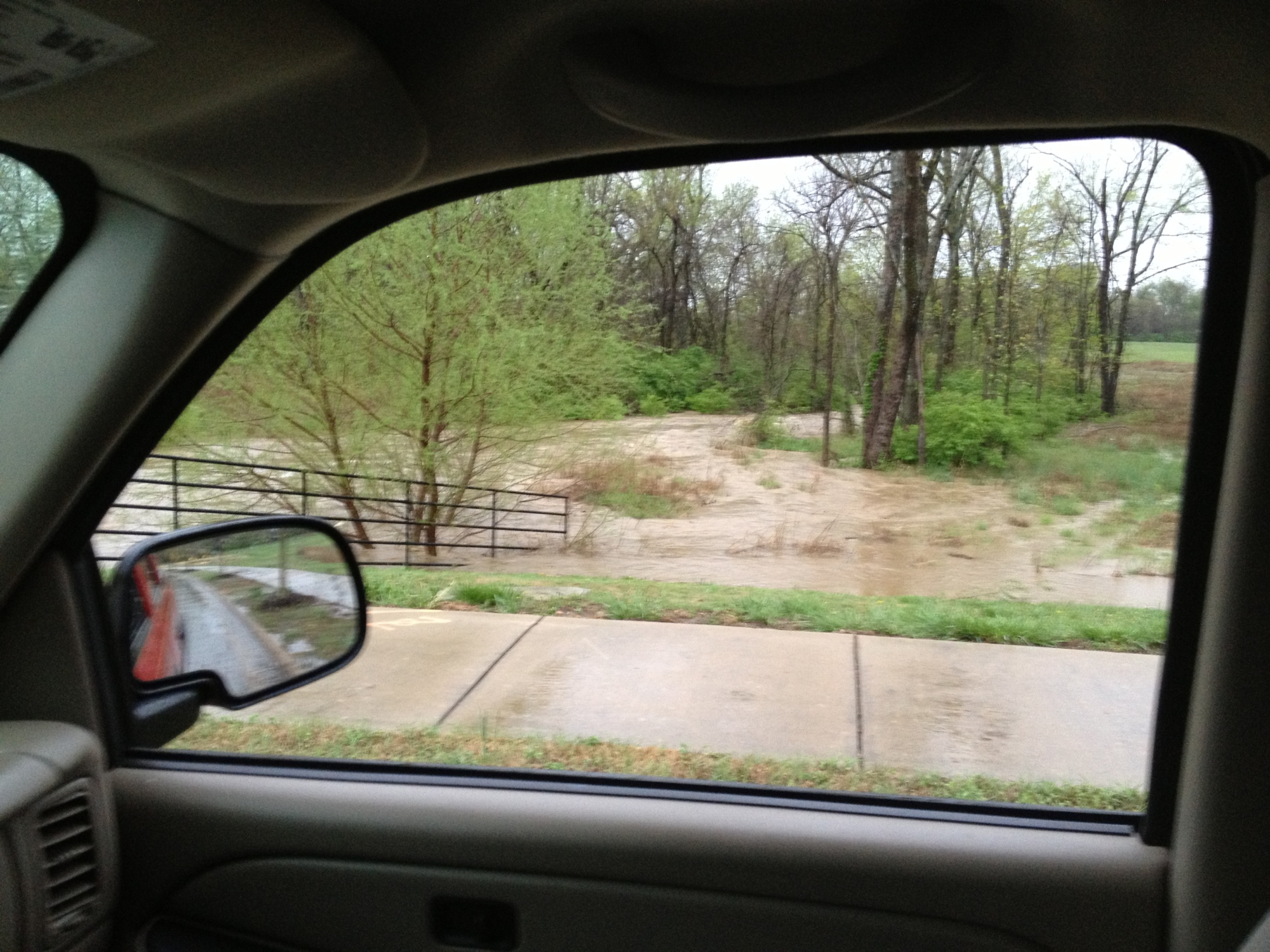 62 and S Holland Drive, farmington/fayetteville city limits. Creek is normally 3 feet wide.
