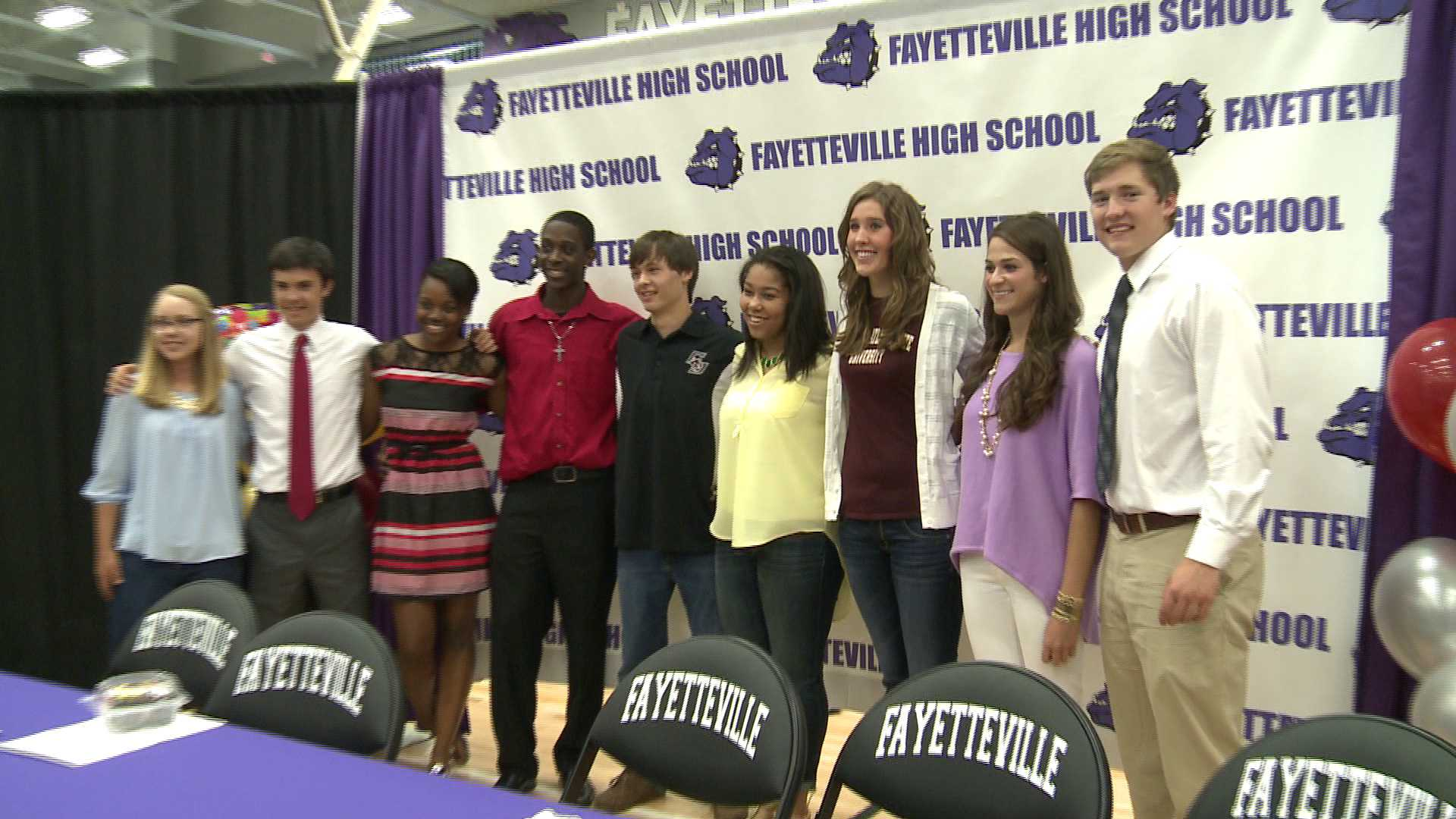 Student-Athletes Signing Day