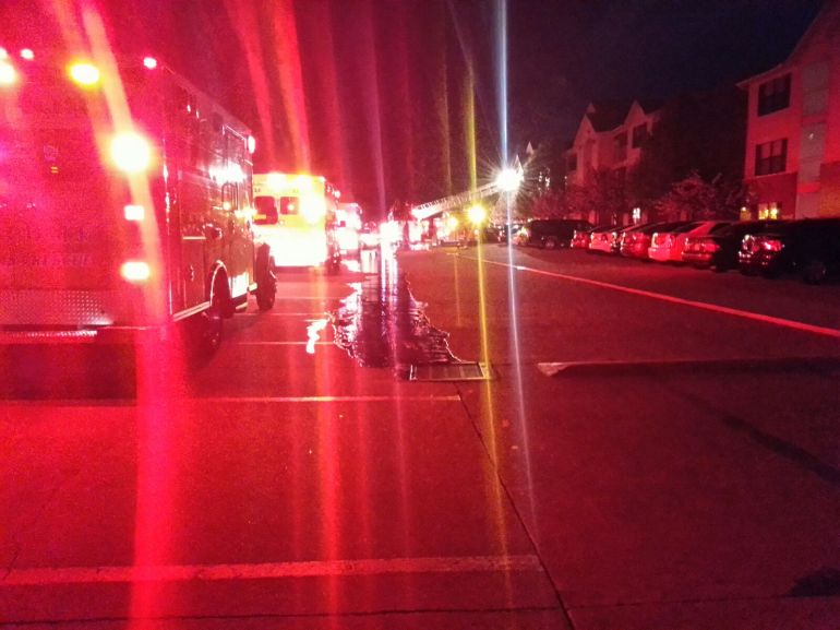 springdale apartment fire