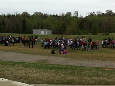 VBHS Freshman Academy Evacuated