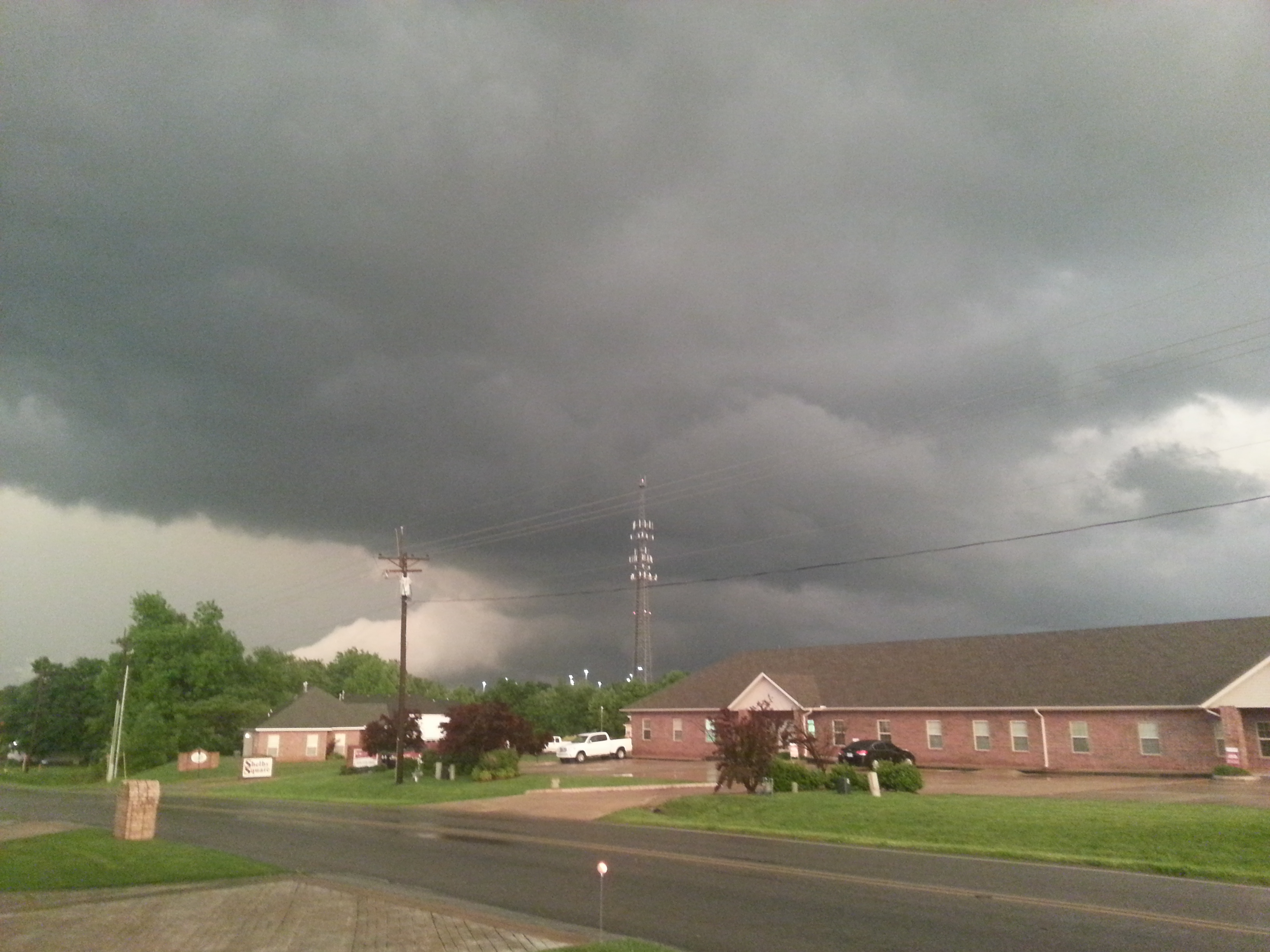 This is from East side of Johnson facing S.E. towards Goshen.