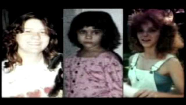 Photos of Wendy Camp, her 6-year-old daughter, Cynthia Britto, and Camp's sister-in-law Lisa Kregear. (KOTV)