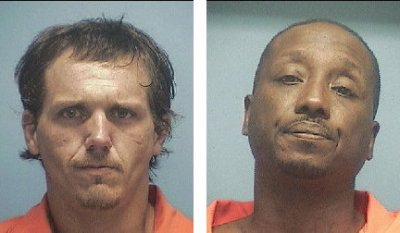 Gregory T. Marshall and Anthony D. Step (Courtesy Courier News)