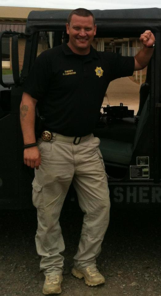 Scott Sheriff Cody Carpenter, Photo from Facebook