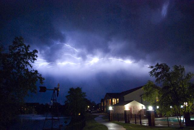 Lightning Storm Springdale, AR