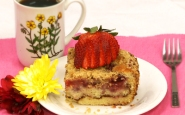 Fruit Coffee Cake