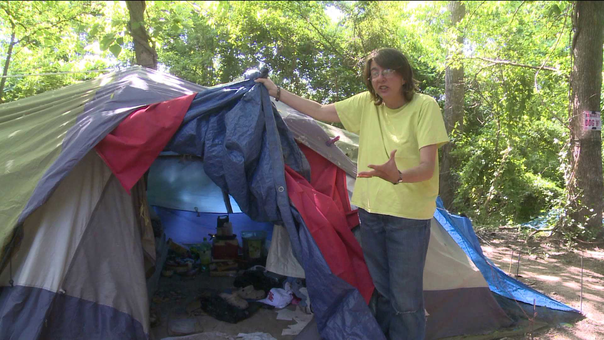Homeless Told To Leave Camp Fort Smith Fayetteville News