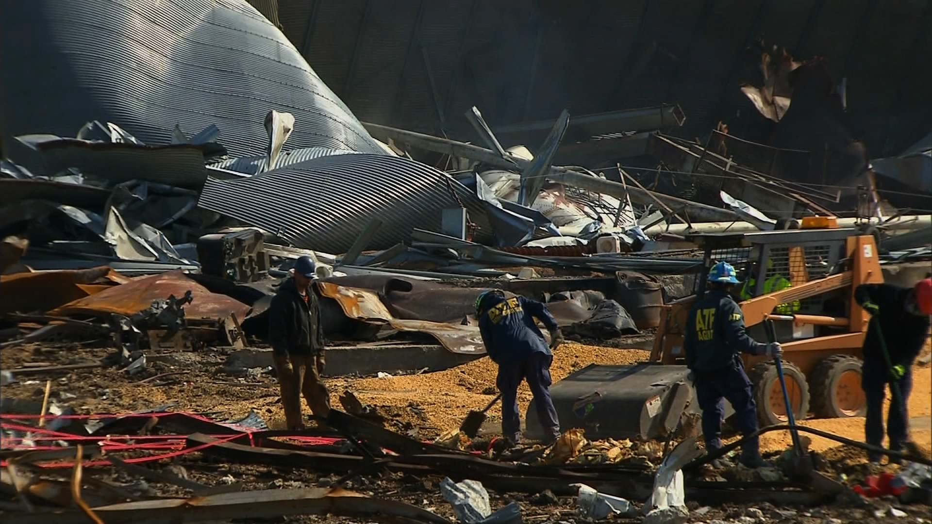 Cleanup is underway in Texas after fertilizer explosion