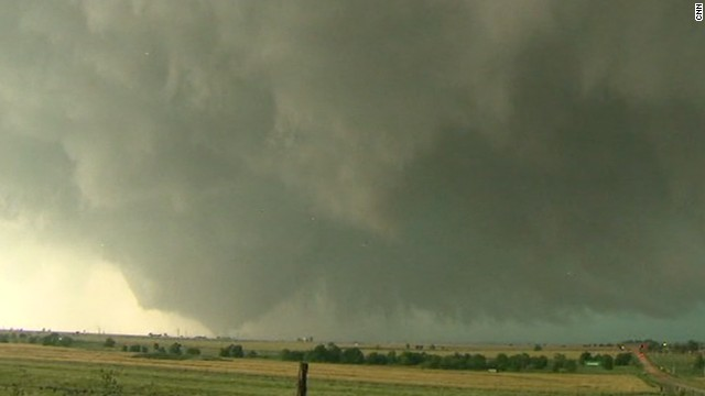Storm brings tornadoes, heavy rain to Oklahoma. Photo Courtesy: CNN