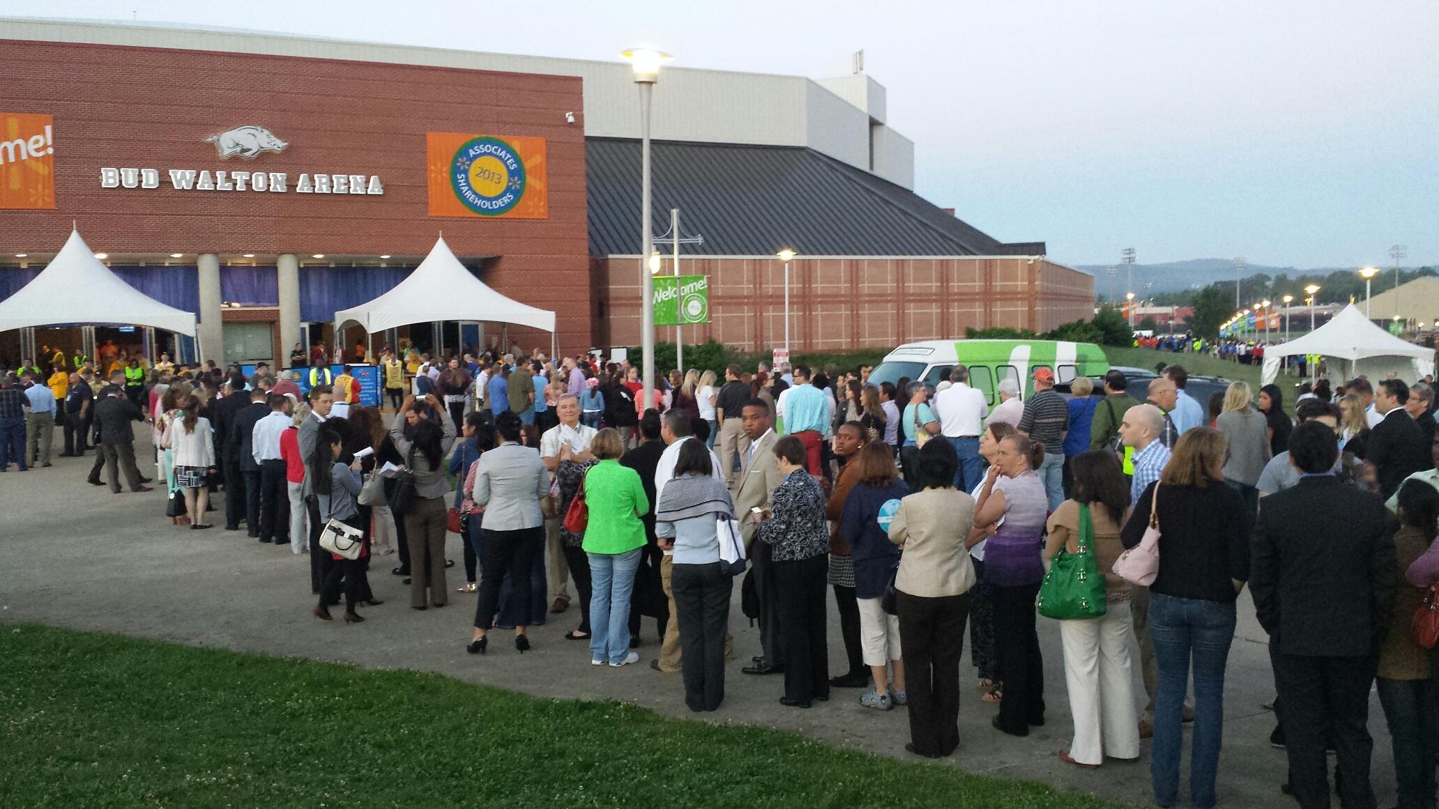 Walmart Shareholders Meeting 2013