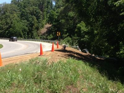 dump truck crash bentonville