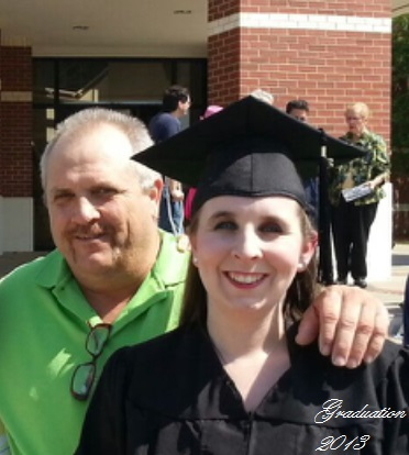 Me and my dad at my college graduation.
